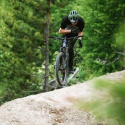 Dylan Siggers donates Bike for Trails